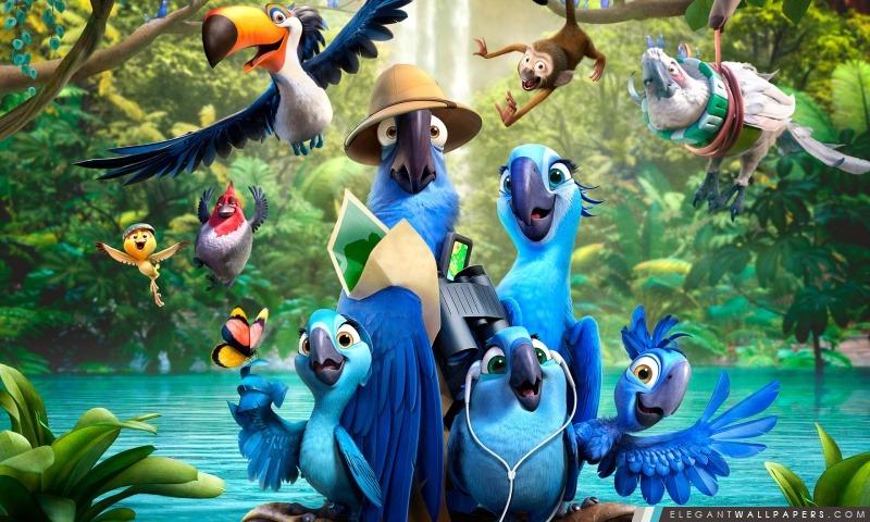 Rio 2 Film, Arrière-plans HD à télécharger