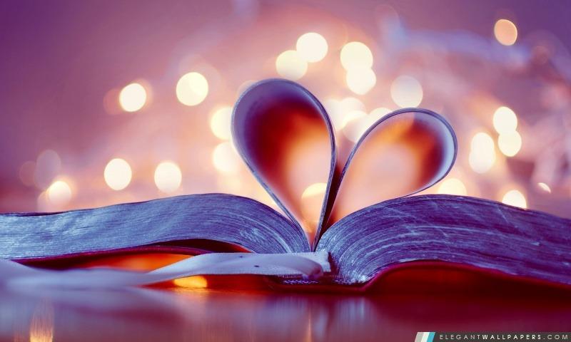 Coeur du livre, Arrière-plans HD à télécharger