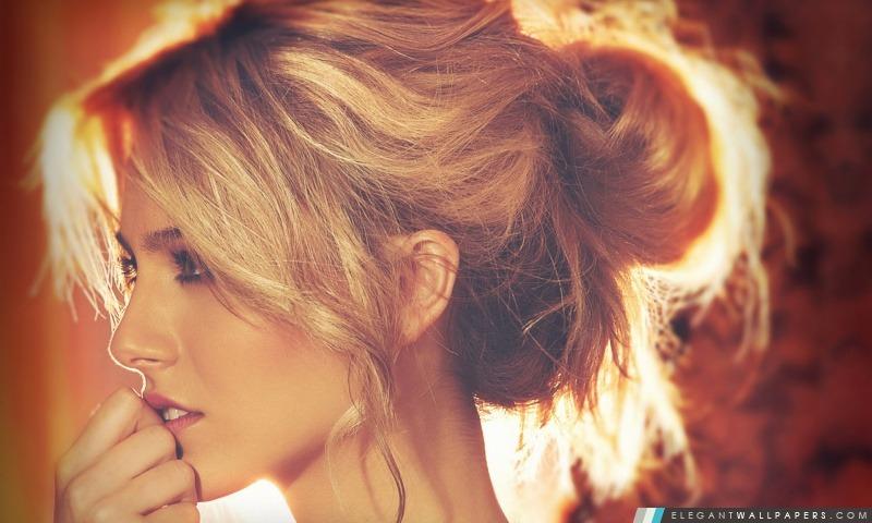 Blonde douce, Arrière-plans HD à télécharger