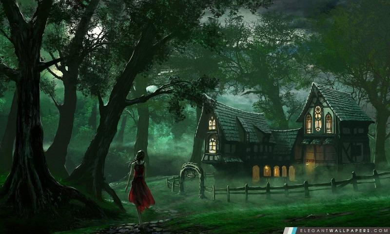 La Maison des forêts, Arrière-plans HD à télécharger