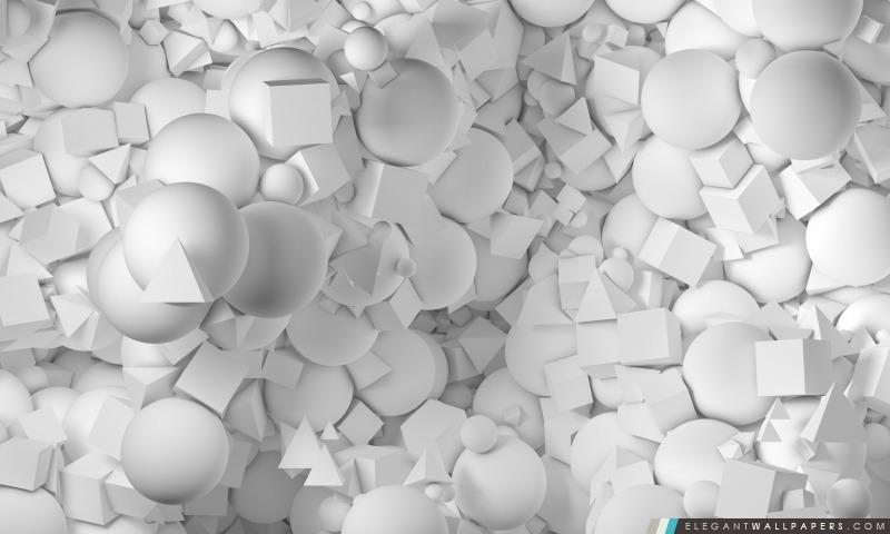 Objets 3D, Arrière-plans HD à télécharger