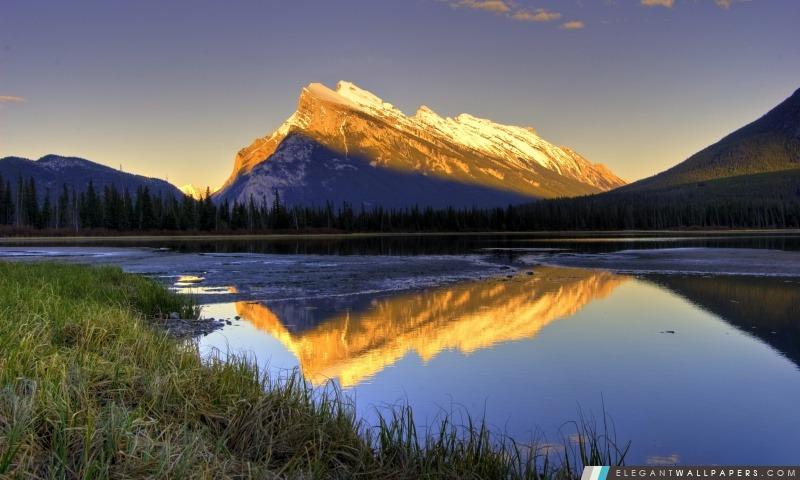 Belle vue sur la montagne, Arrière-plans HD à télécharger
