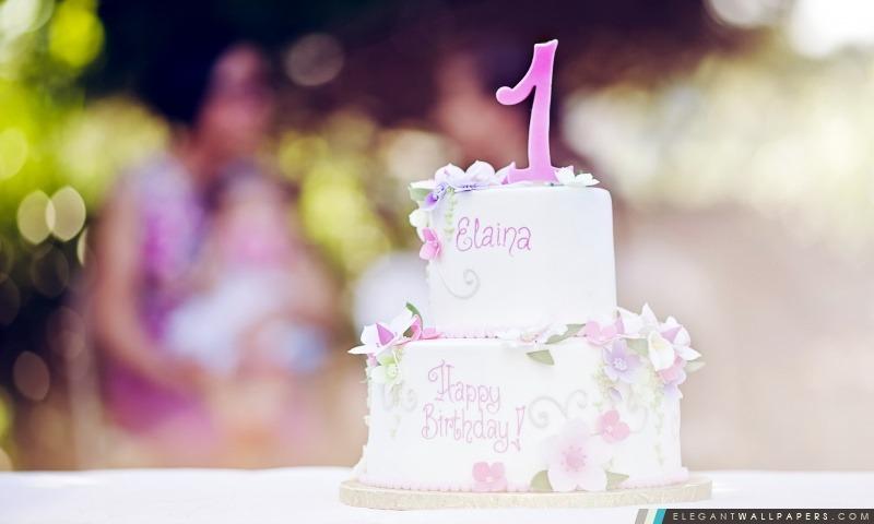 Gâteau d'anniversaire, Arrière-plans HD à télécharger