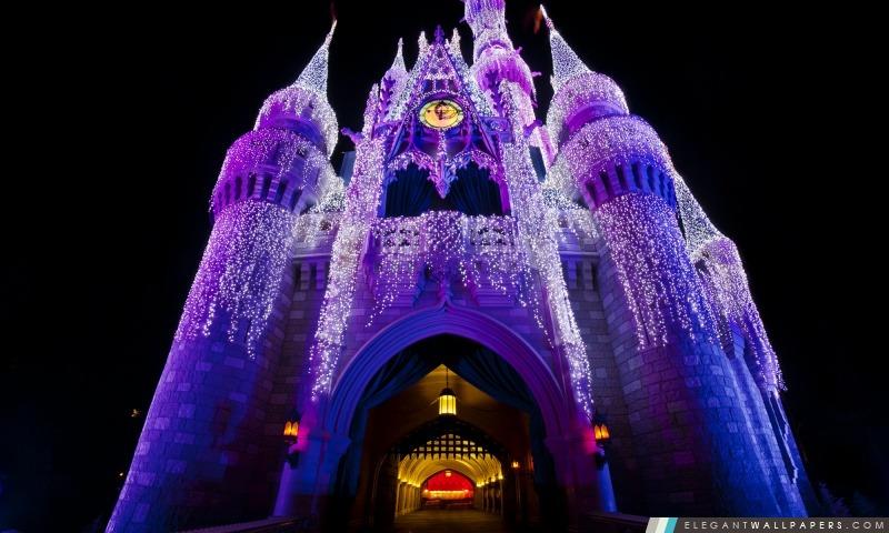 Noël au château, Arrière-plans HD à télécharger
