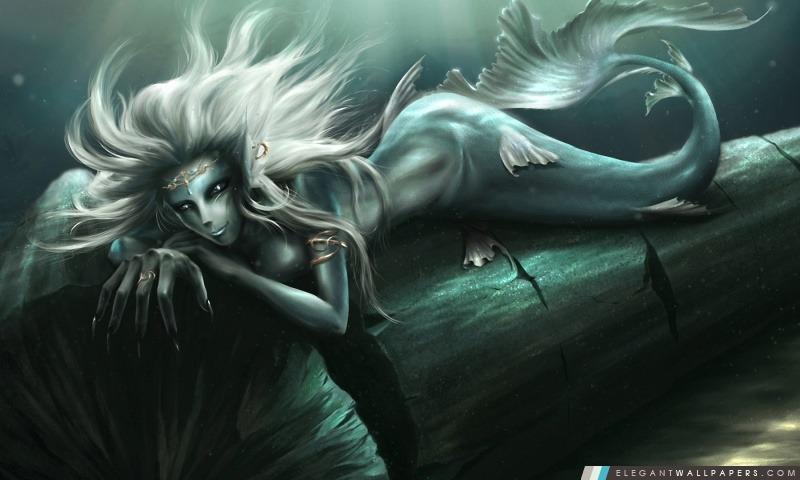 Imagination Art de sirène, Arrière-plans HD à télécharger