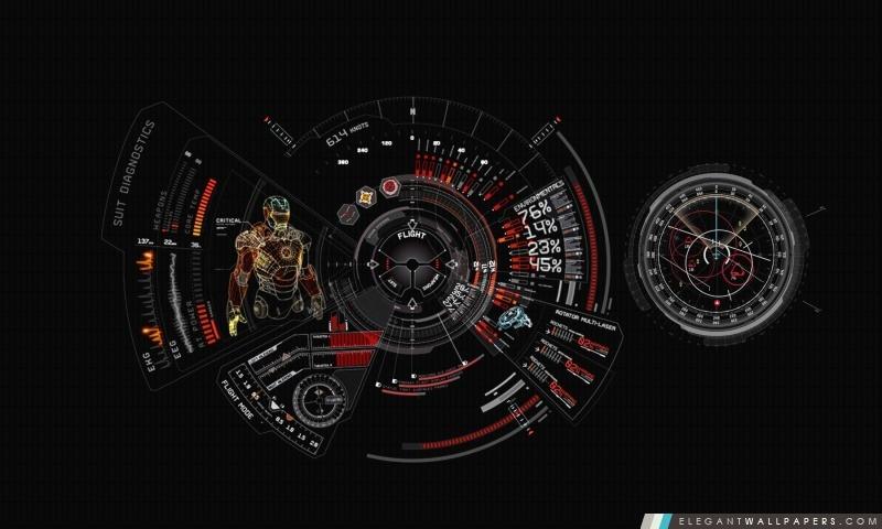 Iron man costume diagnostic fond d 39 cran hd t l charger elegant wallpapers - Iron man telecharger ...
