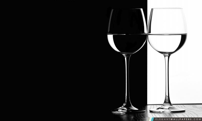 En noir et blanc Lunettes, Arrière-plans HD à télécharger