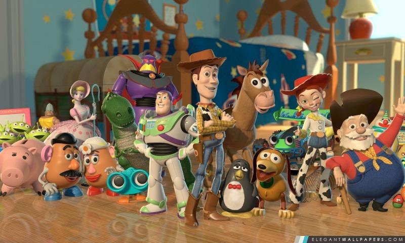 Toy Story 2 caractères, Arrière-plans HD à télécharger