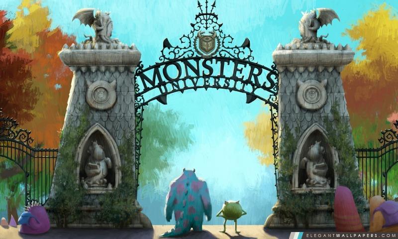 Université des monstres (2013), Arrière-plans HD à télécharger