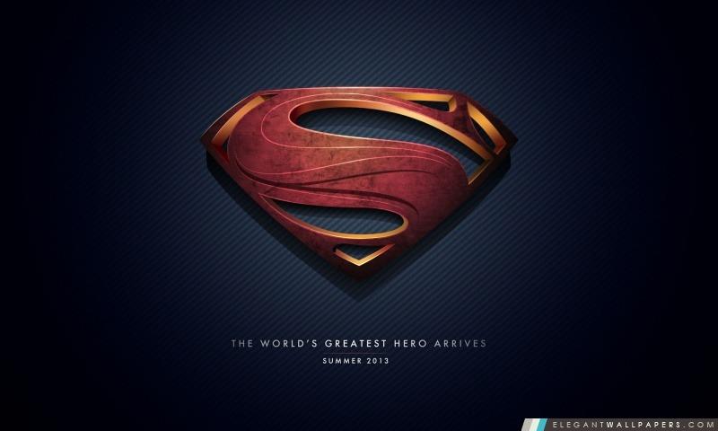 Man of Steel Logo, Arrière-plans HD à télécharger
