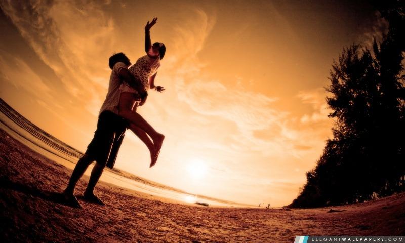 Amour heureux, Arrière-plans HD à télécharger