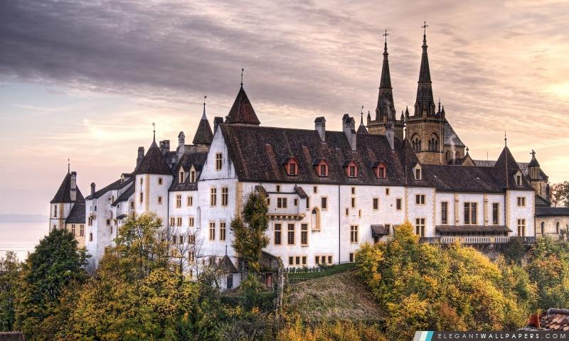 Château, Arrière-plans HD à télécharger