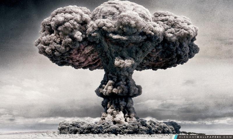 Champignon atomique, Arrière-plans HD à télécharger