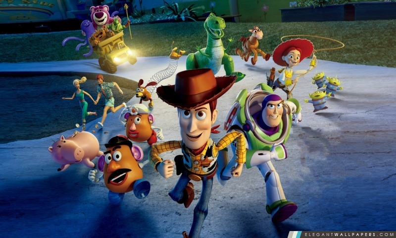Toy Story 3 Great Escape, Arrière-plans HD à télécharger