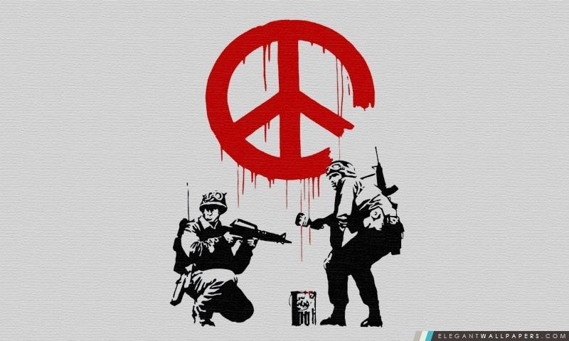 Banksy paix, Arrière-plans HD à télécharger