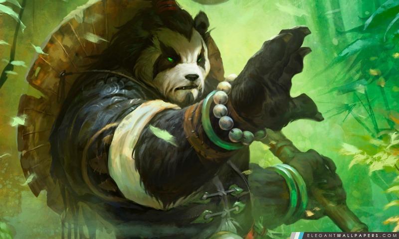 Mists of Pandaria, Arrière-plans HD à télécharger