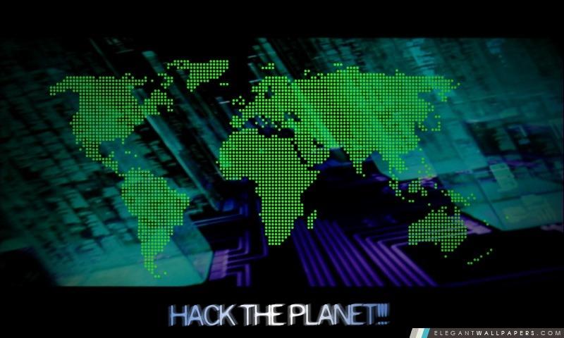 Hack the Planet, Arrière-plans HD à télécharger