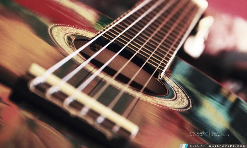 guitare acoustique wallpaper