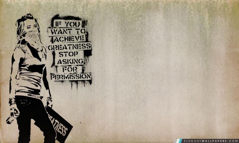 Slogan Graffiti, Arrière-plans HD à télécharger