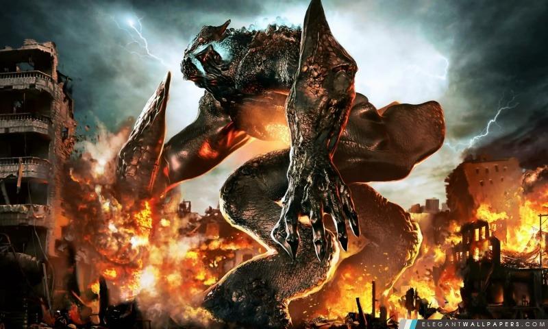 Pacific rim monstre kaiju fond d 39 cran hd t l charger - Telecharger batman begins ...