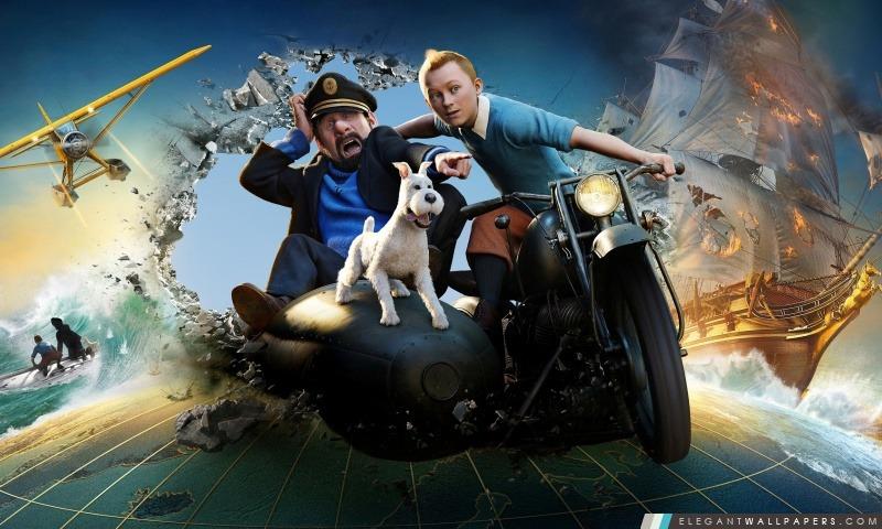 Les Aventures de Tintin: Le Secret de la Licorne, Arrière-plans HD à télécharger