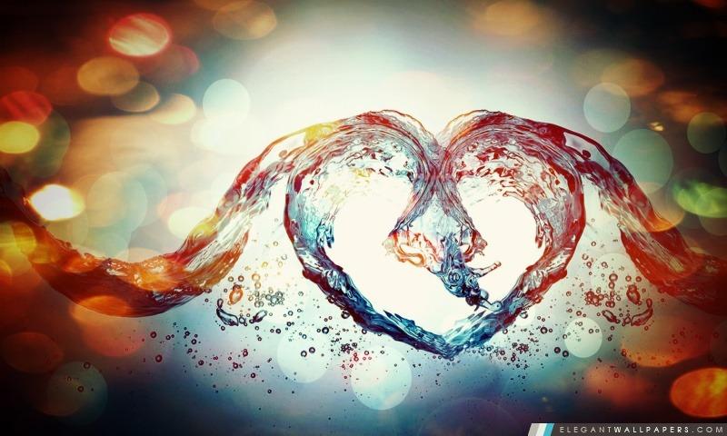 Amour Symbole, Arrière-plans HD à télécharger