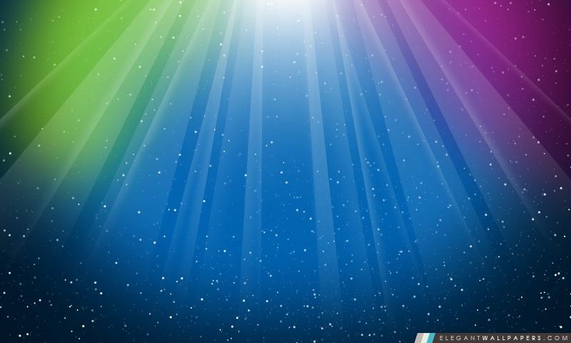 Aurora éclat pourpre bleu-vert coloré, Arrière-plans HD à télécharger