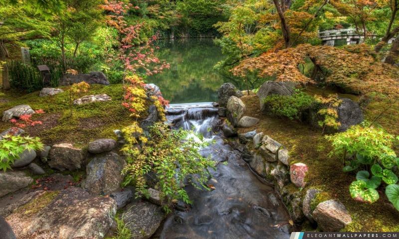 Jardin japonais fond d 39 cran hd t l charger elegant for Paysage jardin japonais