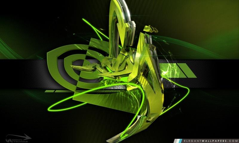 fond d'ecran 3d nvidia