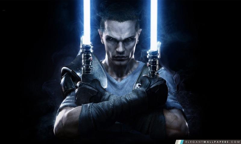 Star Wars Le Pouvoir de la Force 2, Starkiller, Arrière-plans HD à télécharger