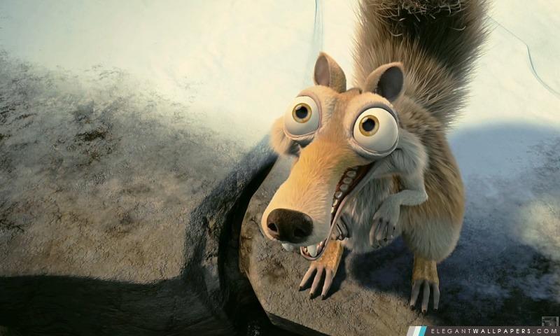 Scrat In Love Ice Age, Arrière-plans HD à télécharger