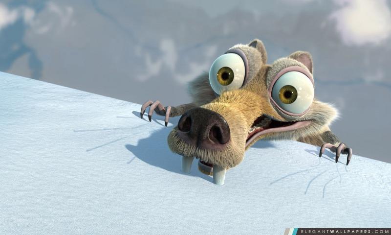 Scrat Ice Age, Arrière-plans HD à télécharger