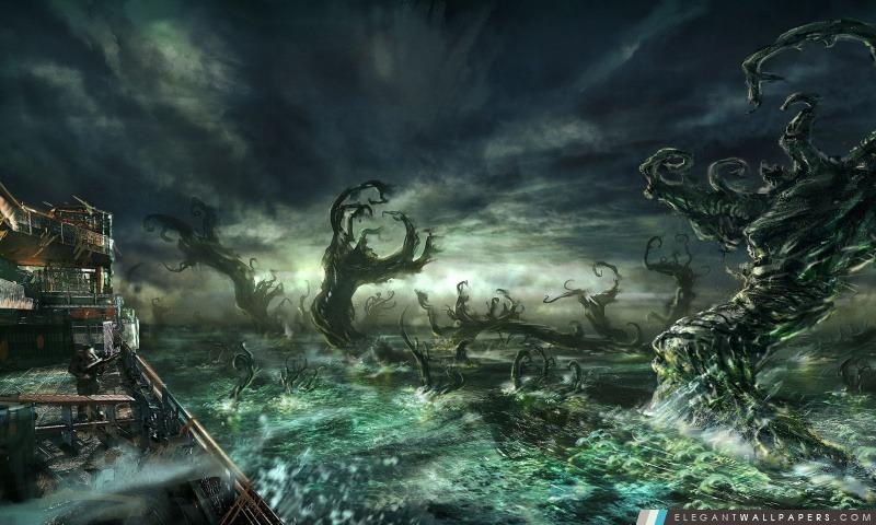 Gears Of War 3 Concept Art, Arrière-plans HD à télécharger
