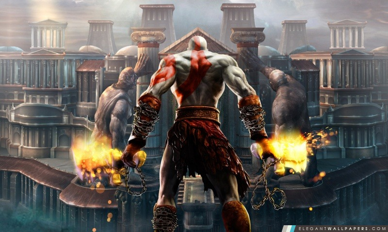 fond d'ecran god of war