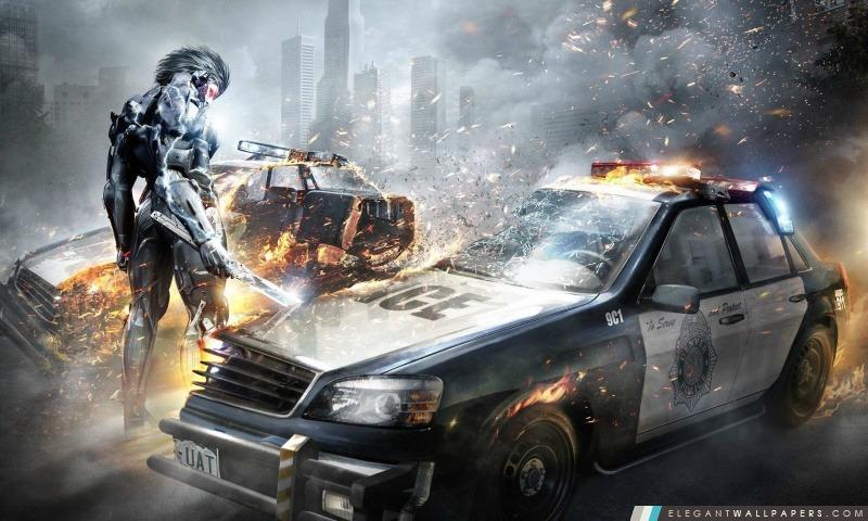 Metal Gear Rising Revengeance, Arrière-plans HD à télécharger