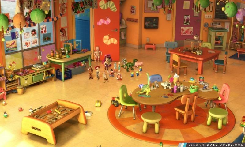 Toy Story 3 maternelle, Arrière-plans HD à télécharger