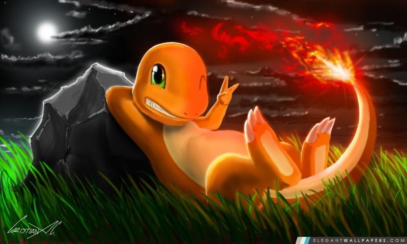 charmander  pokemon   fond d u0026 39  u00e9cran hd  u00e0 t u00e9l u00e9charger