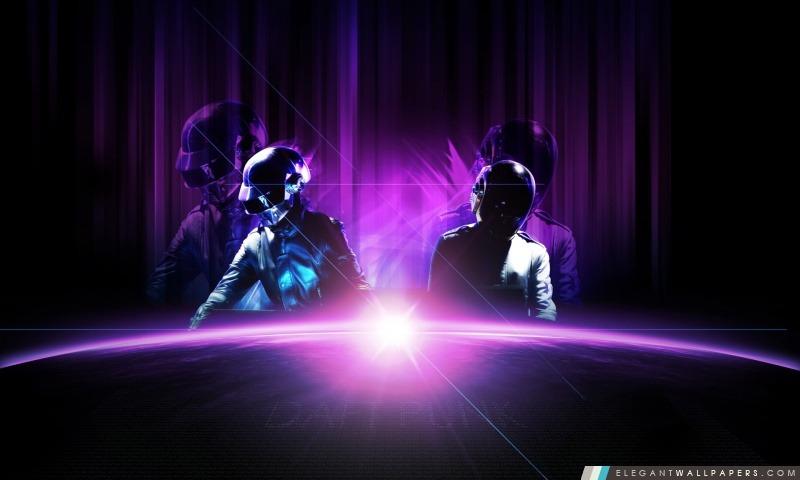 Daft Punk Purple (Live), Arrière-plans HD à télécharger