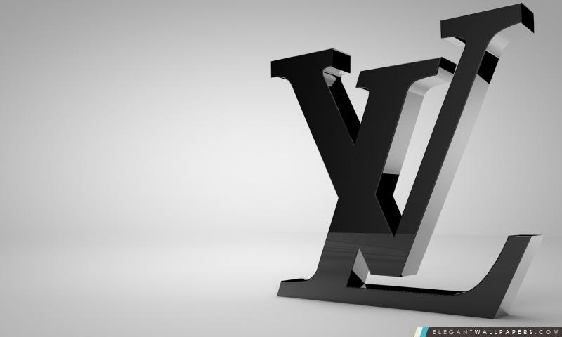 louis vuitton shiny black logo  fond d u0026 39  u00e9cran hd  u00e0