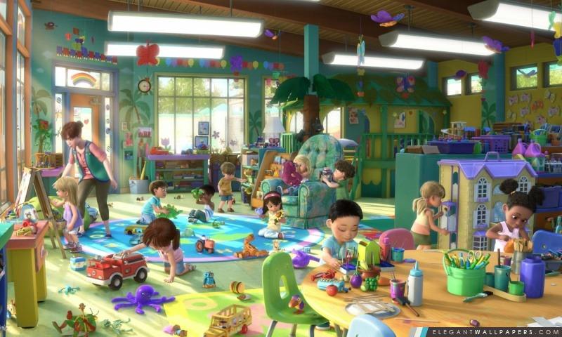 Toy Story 3 Playtime, Arrière-plans HD à télécharger