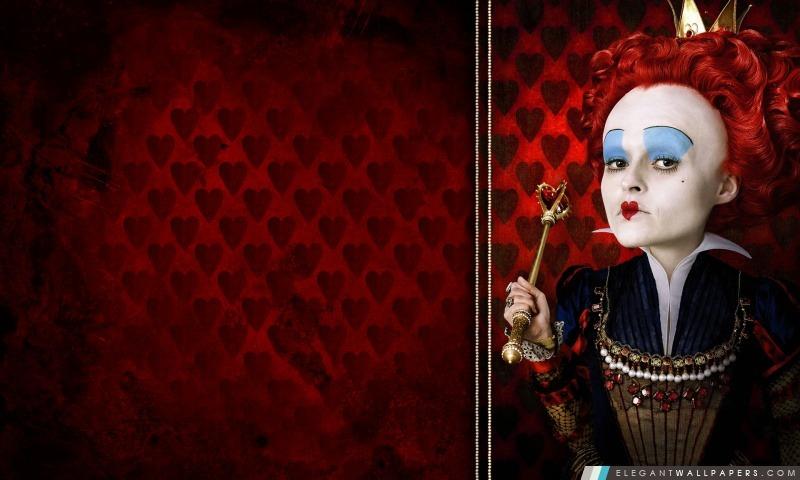 La Reine Rouge, Alice au pays des merveilles, Arrière-plans HD à télécharger