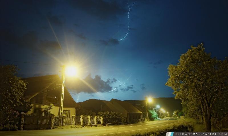 Night Storm, Arrière-plans HD à télécharger