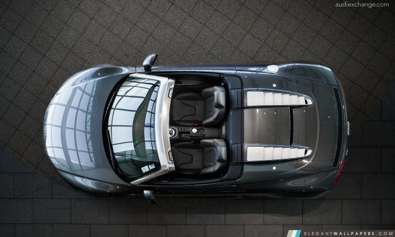 Audi R8 V10 Spyder en haut, Arrière-plans HD à télécharger