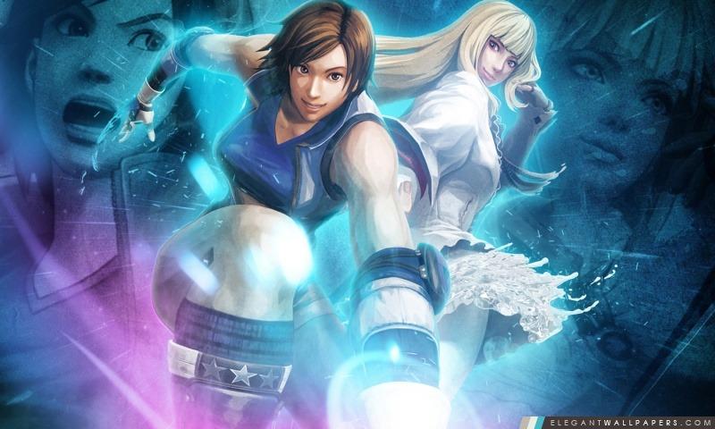 Street Fighter X Tekken – Asuka Lili, Arrière-plans HD à télécharger