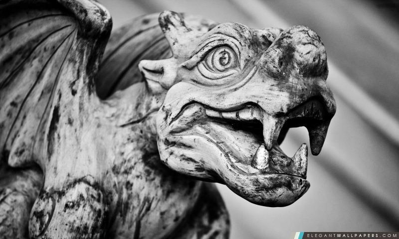 Gargouille, Arrière-plans HD à télécharger