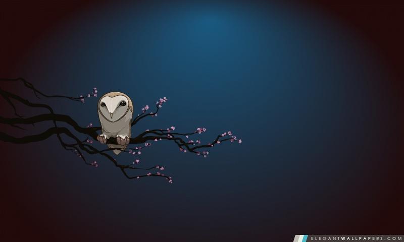 Hibou masqué Vector Art, Arrière-plans HD à télécharger