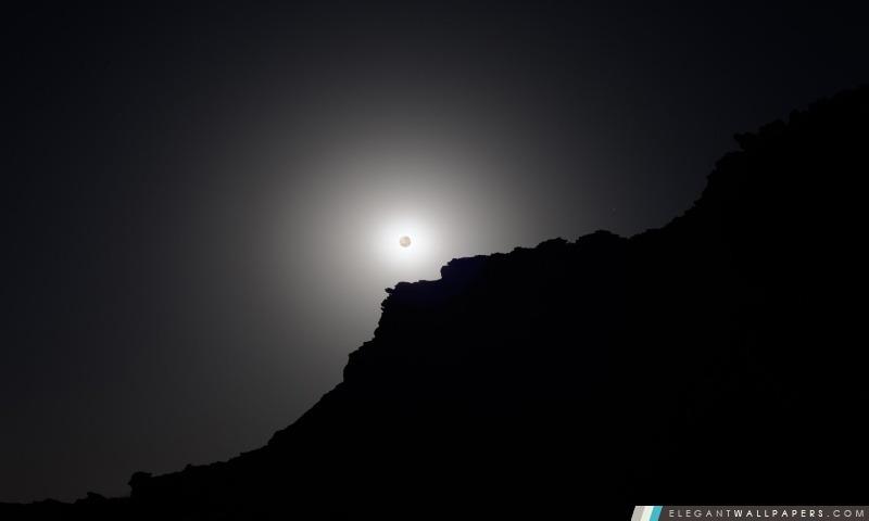 Eclipse en noir et blanc, Arrière-plans HD à télécharger
