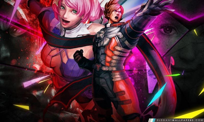 Street Fighter X Tekken – Lars Alisa, Arrière-plans HD à télécharger