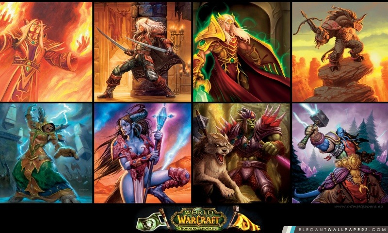 World of Warcraft, The Burning Crusade, Arrière-plans HD à télécharger