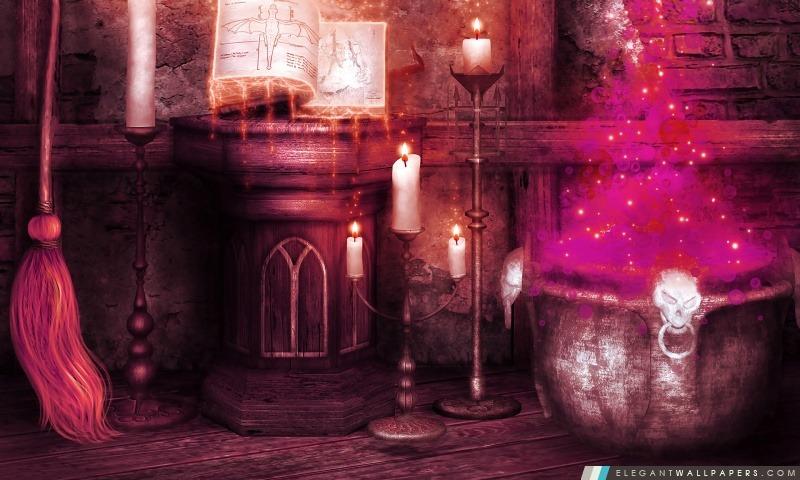 Magie de Halloween, Arrière-plans HD à télécharger